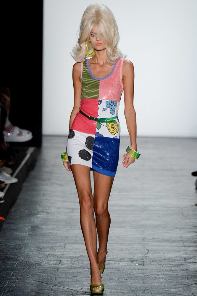 Jeremy Scott Ready To Wear SS 2016 NYFW