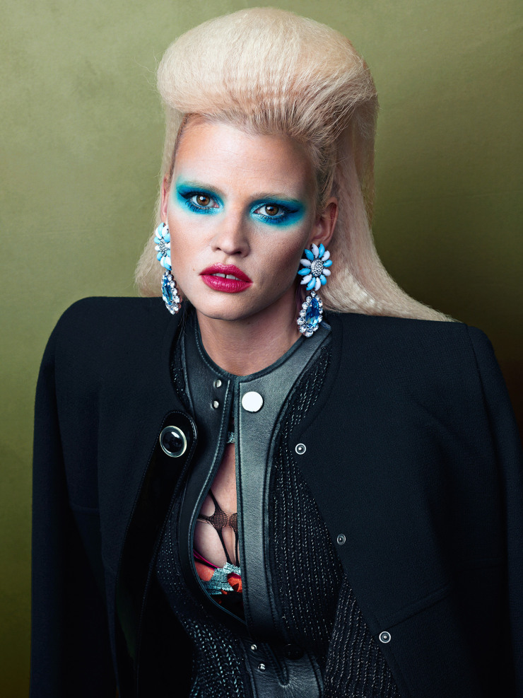 Lara Stone by Bjorn Iooss (3)