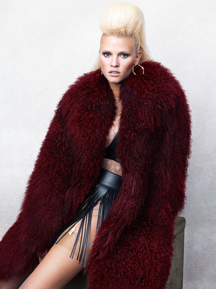 Lara Stone by Bjorn Iooss (4)