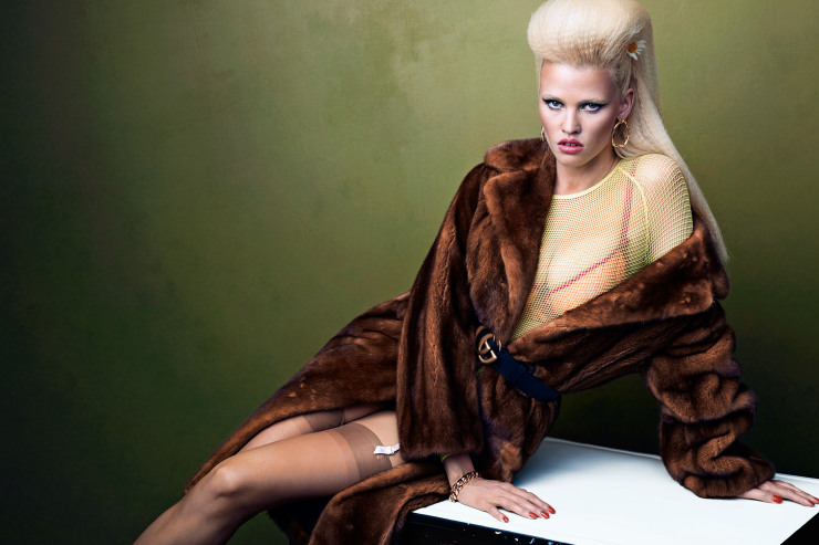 Lara Stone by Bjorn Iooss (6)