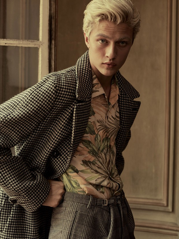 Lucky Blue Smith by Sebastian Faena