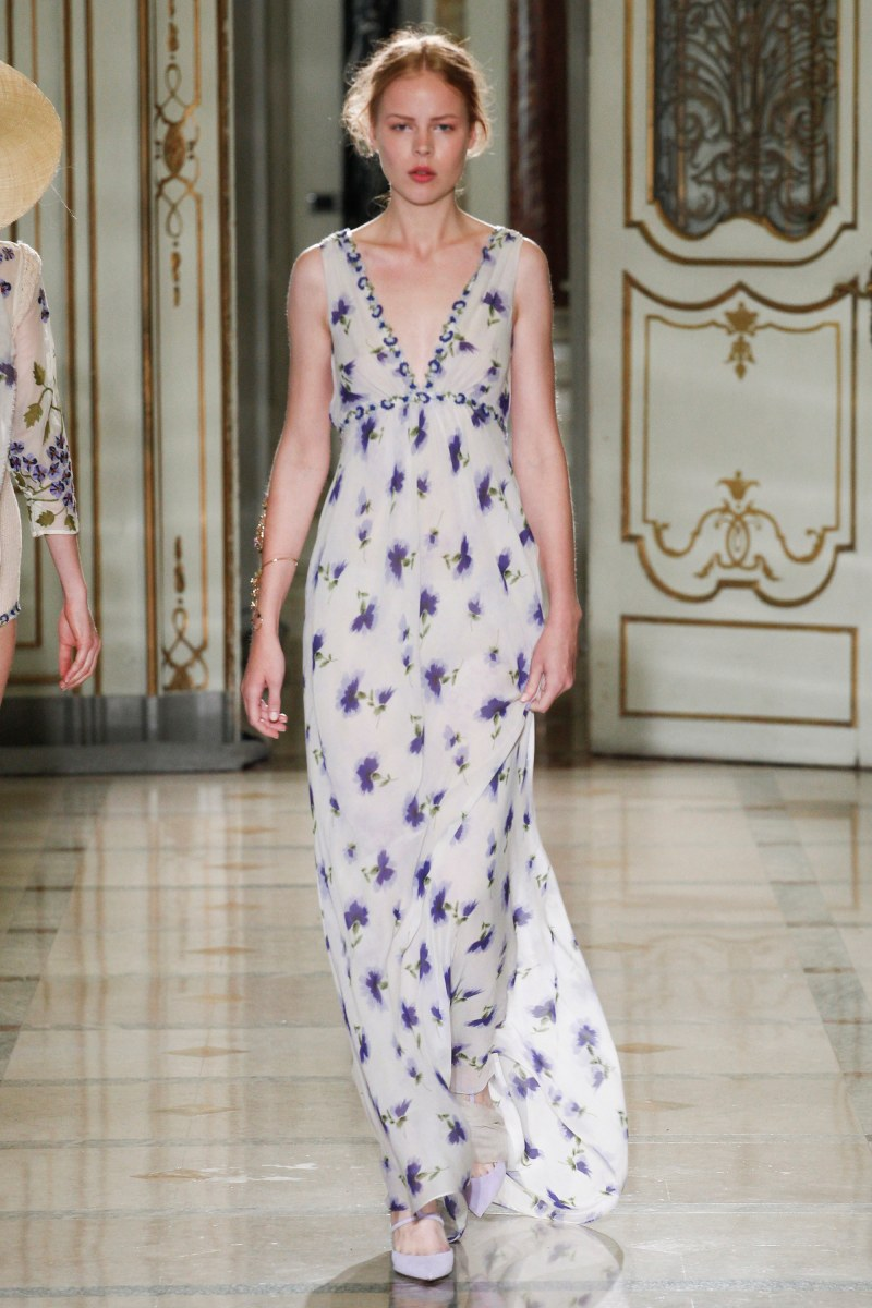 Luisa Beccaria Ready To Wear SS 2016 MFW (8)