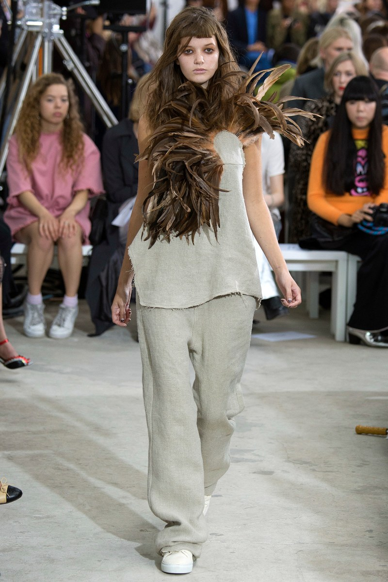 Marques'Almeida Ready To Wear SS 2016 LFW (23)