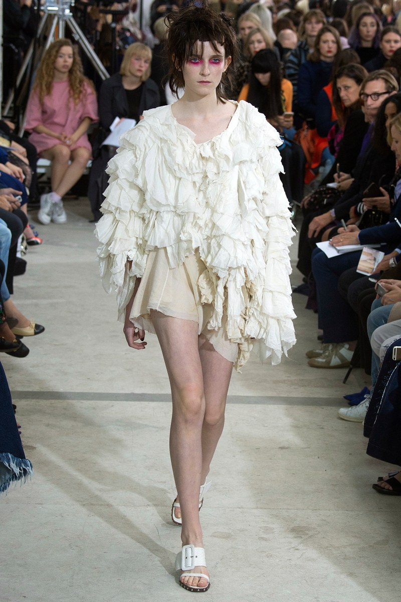 Marques'Almeida Ready To Wear SS 2016 LFW (36)