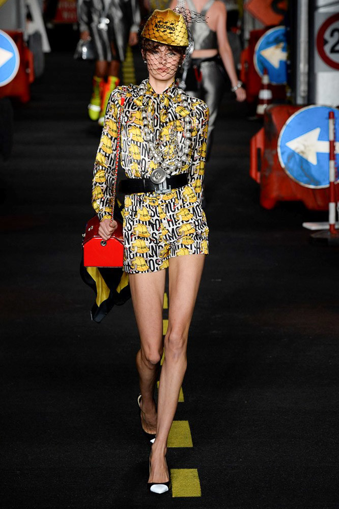 Moschino Ready To Wear SS 2016 MFW (40)