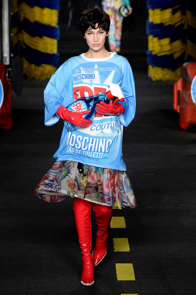 Moschino Ready To Wear SS 2016 MFW (49)