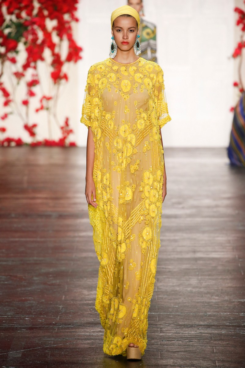 Naeem Khan Ready To Wear SS 2016 NYFW (17)