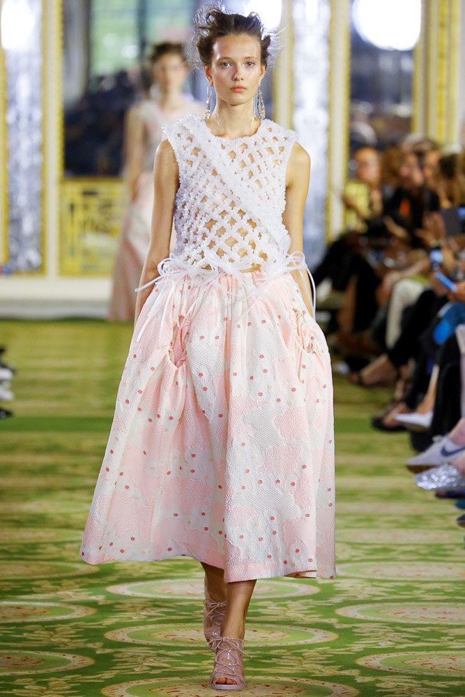 Simone Rocha Ready To Wear SS 2016 LFW (7)