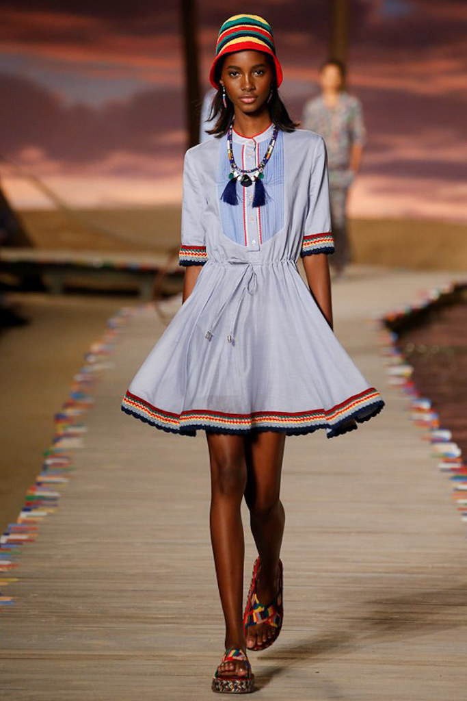 Tommy Hilfiger Ready To Wear SS 2016 NYFW (1)