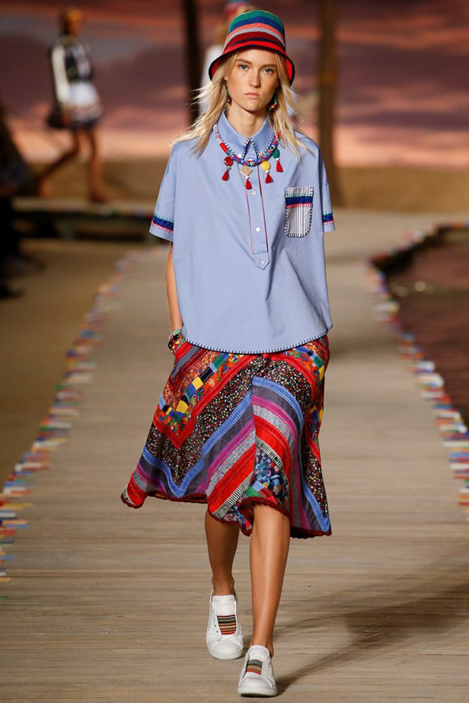 Tommy Hilfiger Ready To Wear SS 2016 NYFW (4)