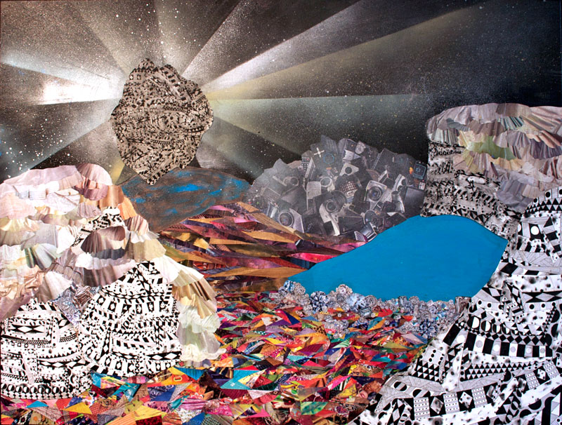 Trippy Landscapes by Hilary Pecis