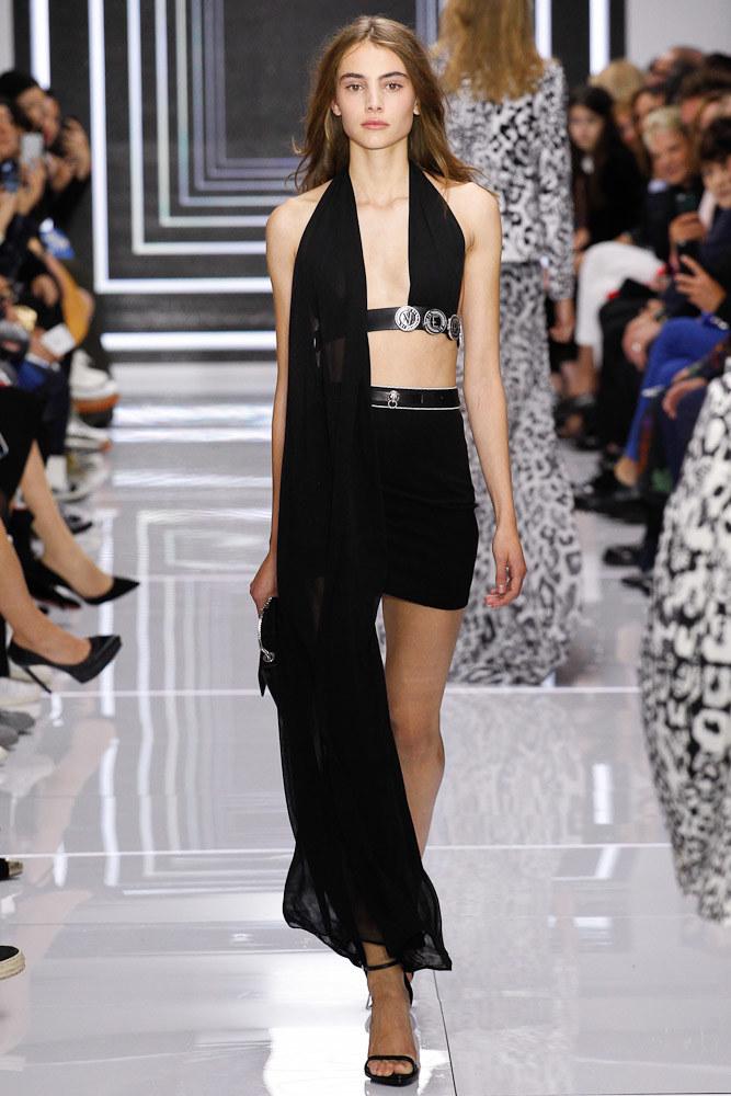 Versus Versace Ready To Wear SS 2016 LFW (29)