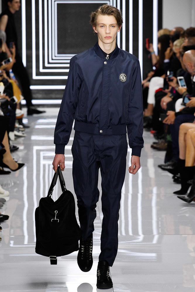 Versus Versace Ready To Wear SS 2016 LFW (4)