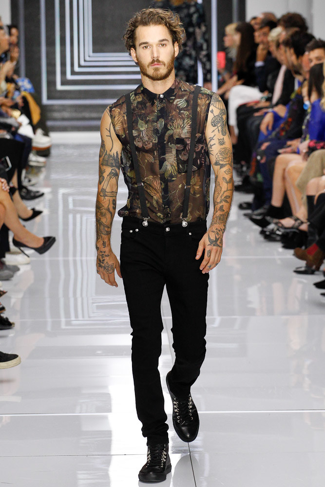 Versus Versace Ready To Wear SS 2016 LFW (51)