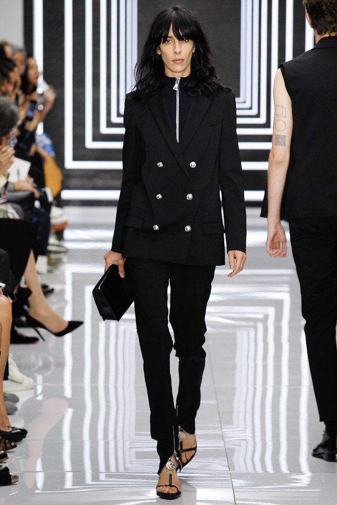 Versus Versace Ready To Wear SS 2016 LFW (9)