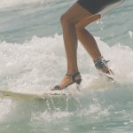Surfing in Heels
