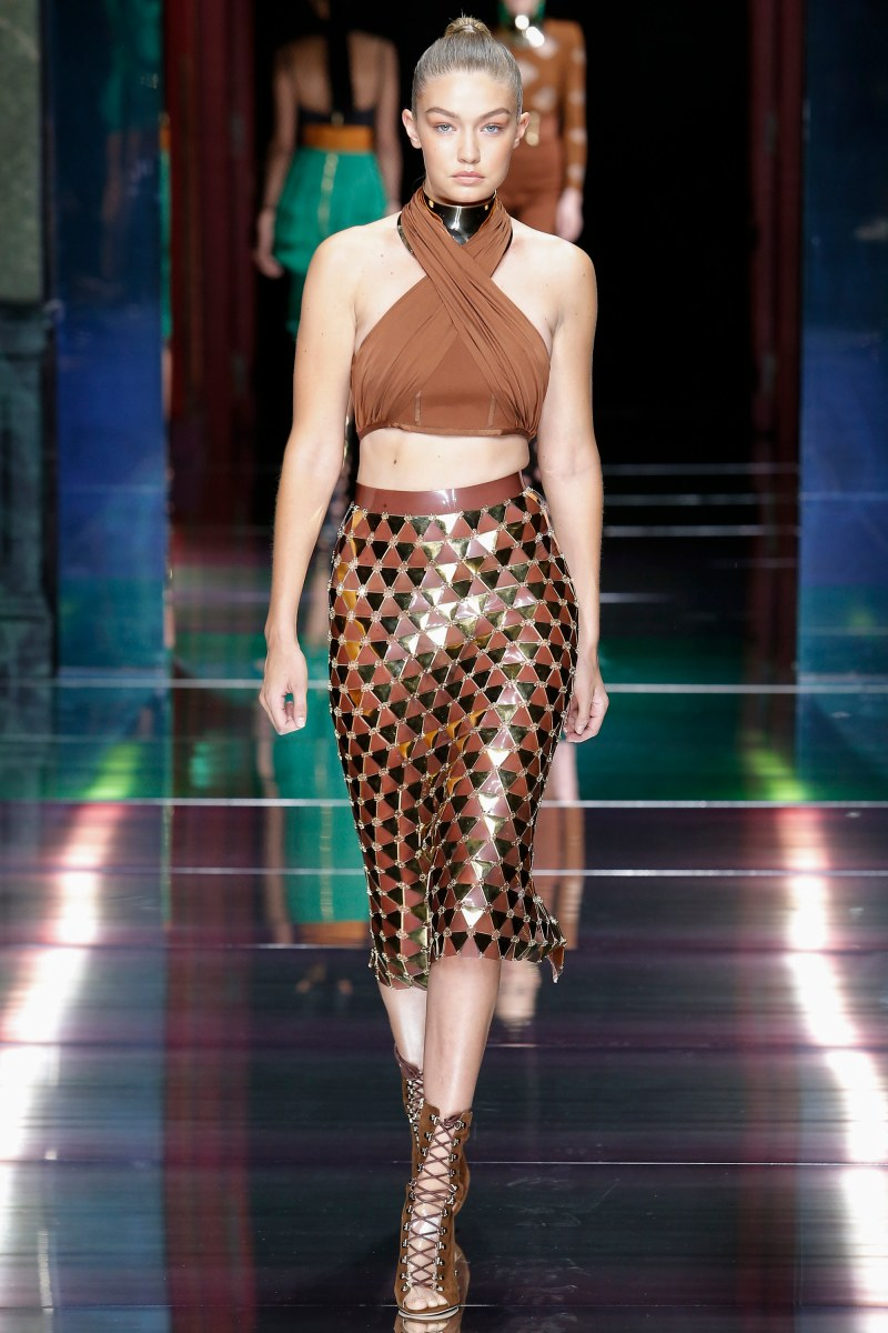 Balmain Ready To Wear SS 2016 PFW (13)
