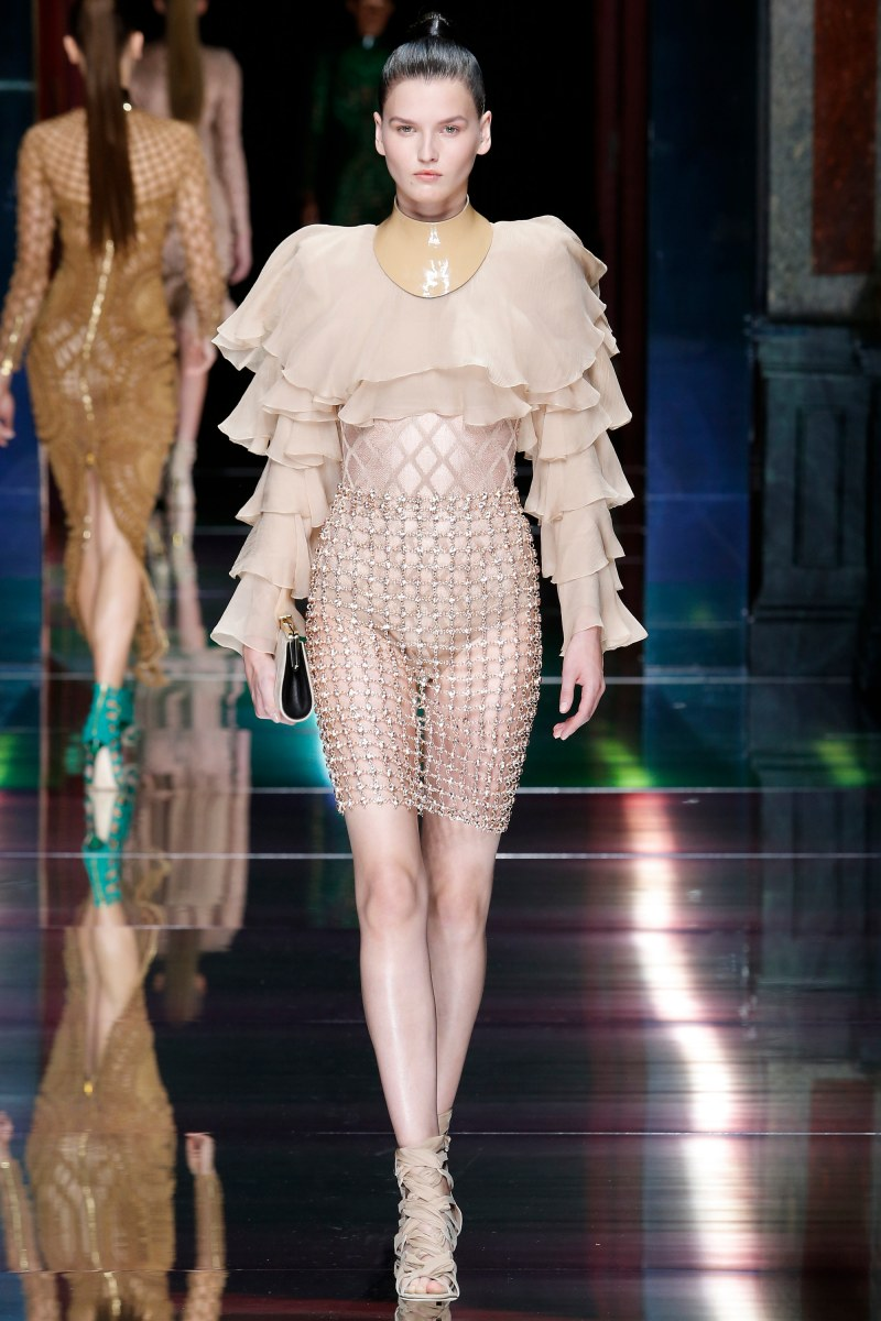 Balmain Ready To Wear SS 2016 PFW (32)
