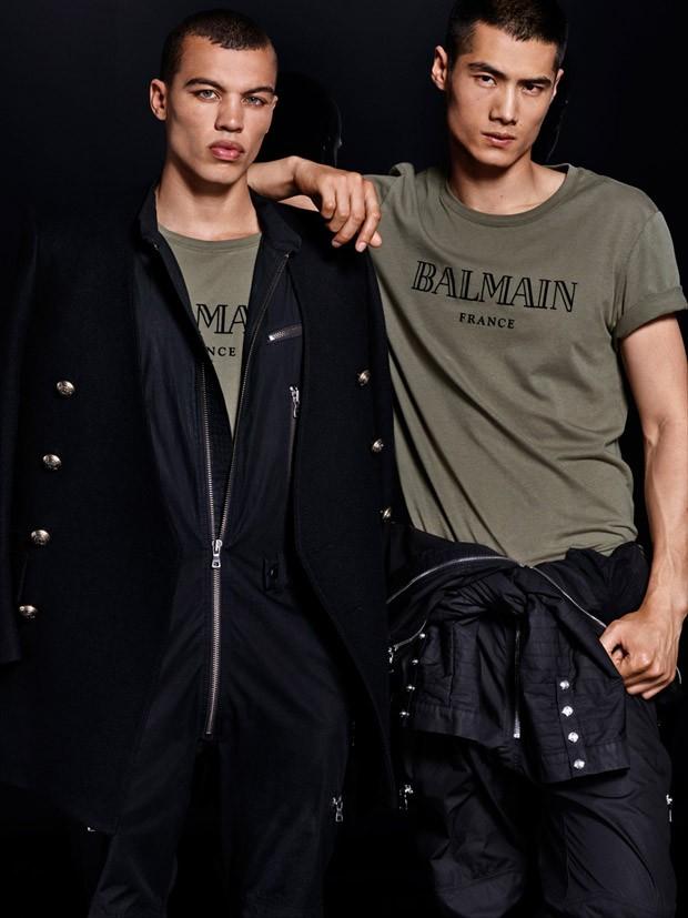 Balmain x H&M ft. Dudley O'Shaughnessy & Hao Yun Xiang (11)