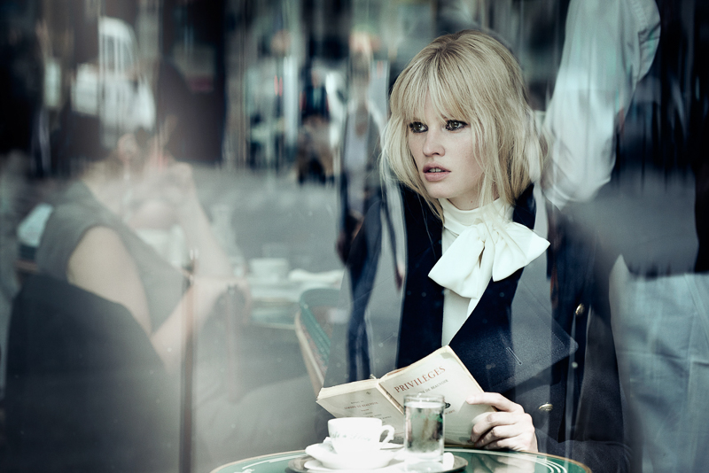 Freja Beha Erichsen & Lara Stone by Peter Lindbergh (1)
