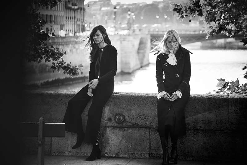Freja Beha Erichsen & Lara Stone by Peter Lindbergh (7)