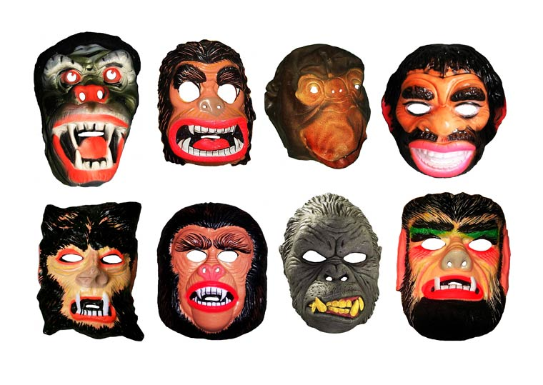 Massive Vintage Halloween Mask Collection (2)