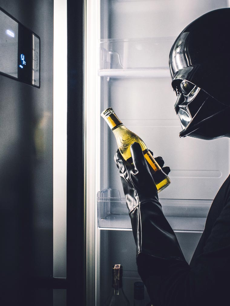 Darth Vader in Everyday Life (2)