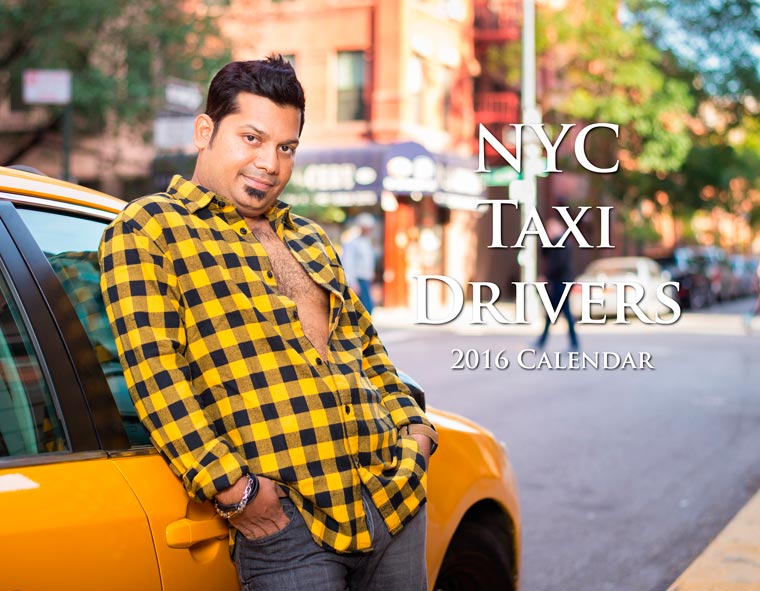 Real NYC Taxi Drivers Get Sexy in a 2016 Calender (10)