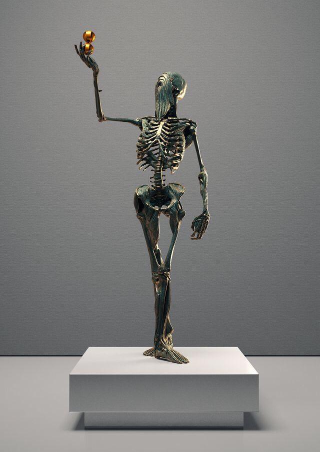 Sculptures by artist Hedi Xandt (2)