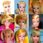 The Evolution of BARBIE from 1959 – 2015