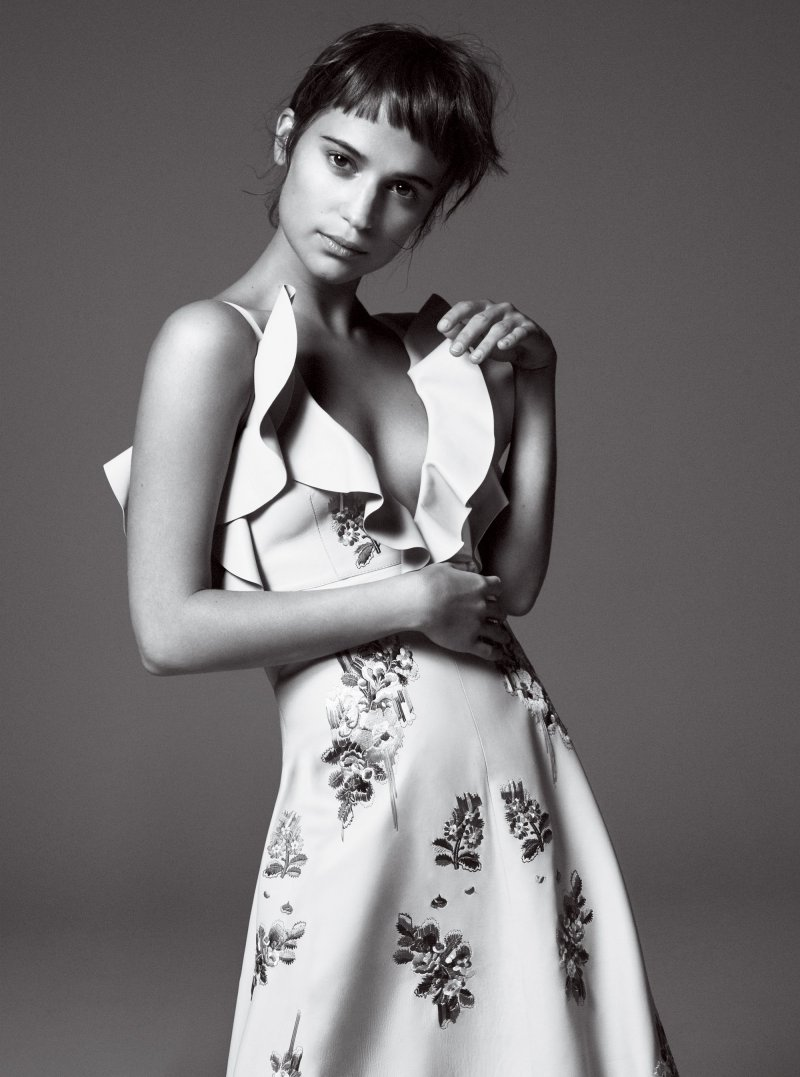 Alicia Vikander by David Sims (2)