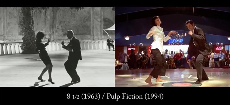 Comparisons of Quentin Tarantino's Visual References and their Orginal Movies (3)