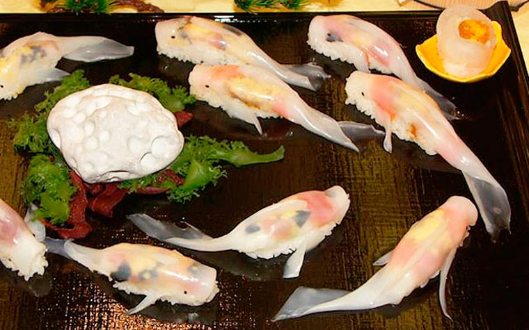 Koi Shaped Sushi (3)