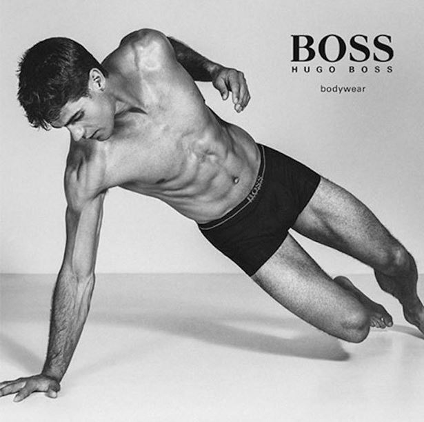 Top Male Models Unite for BOSS by Hugo Boss Underwear Campaign (3)