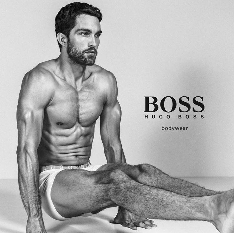 Top Male Models Unite for BOSS by Hugo Boss Underwear Campaign (9)