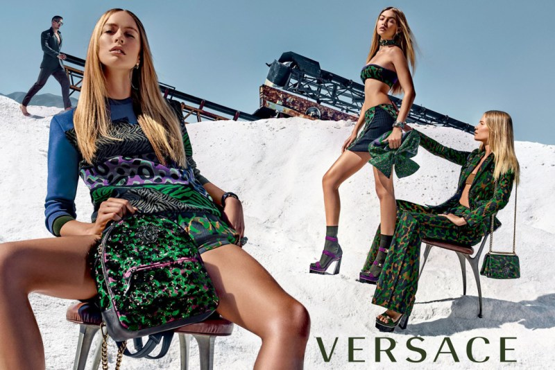 Versace SS 2016 Campaign (2)