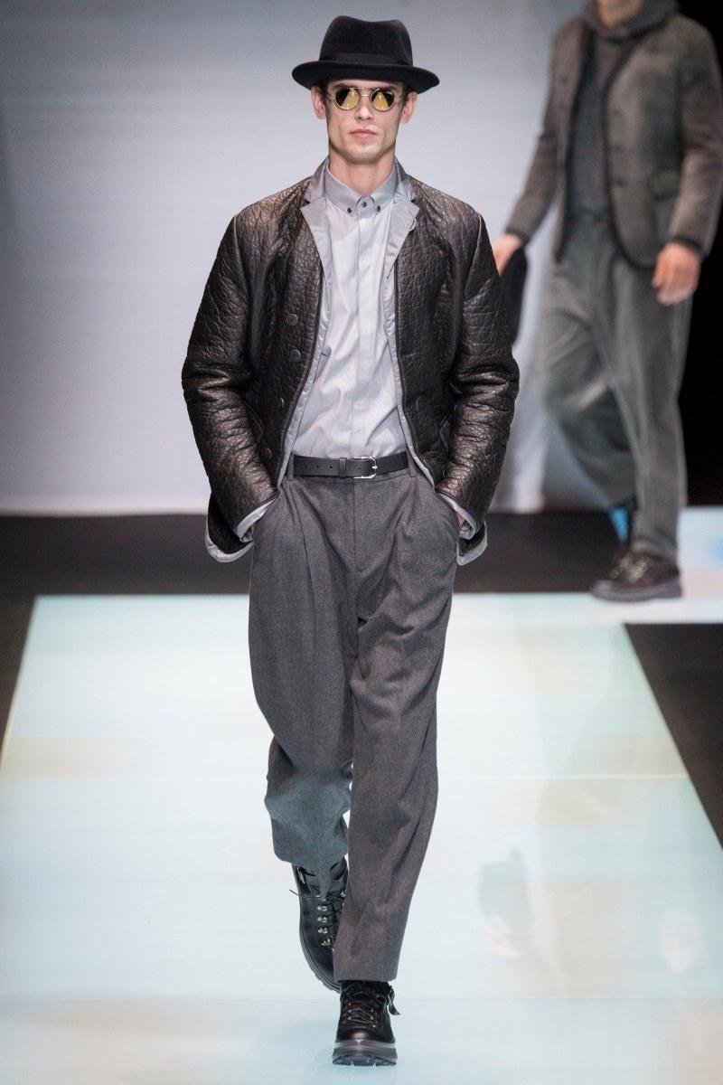 Giorgio Armani Menswear FW 2016 Milan (12)