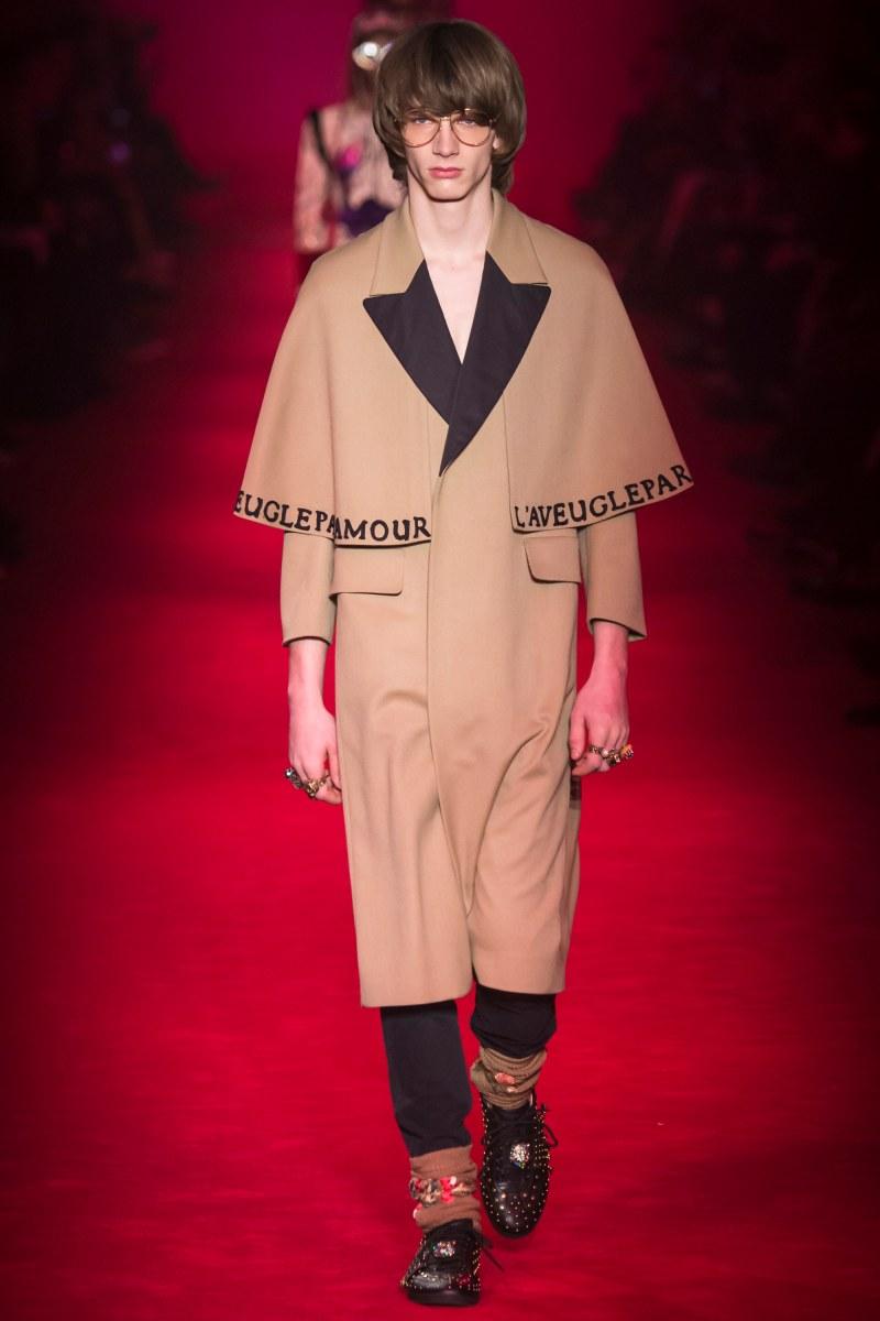 Gucci Menswear FW 2016 Milan (10)