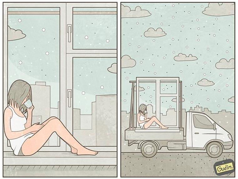 Illustrations by Anton Gudim (3)