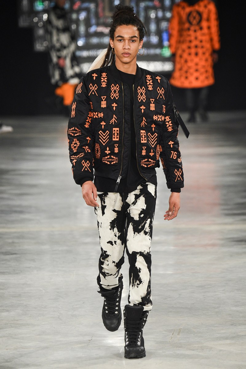 Marcelo Burlon County of Milan Menswear FW 2016 Milan (20)