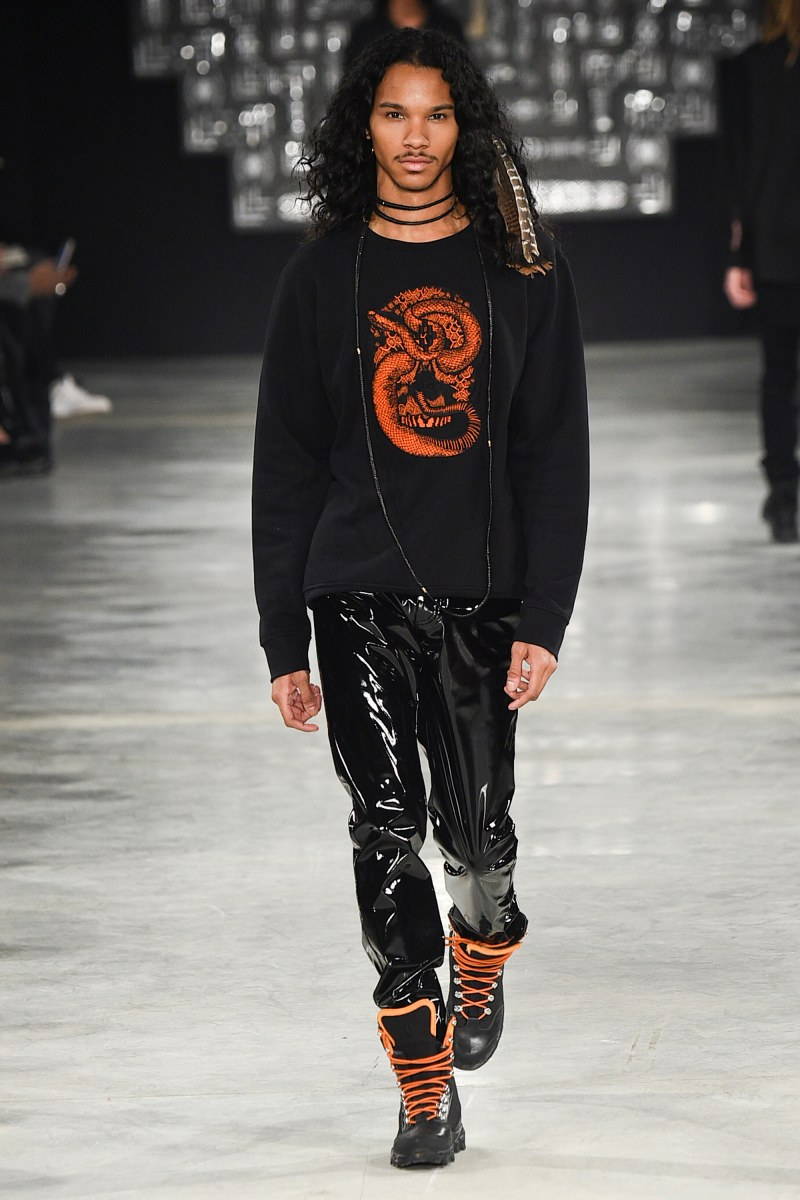 Marcelo Burlon County of Milan Menswear FW 2016 Milan (4)