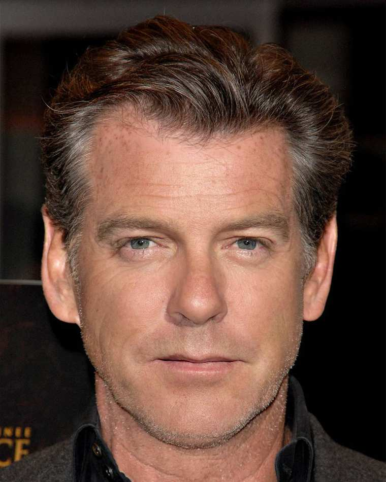 Pierce Brosnan + Kiefer Sutherland