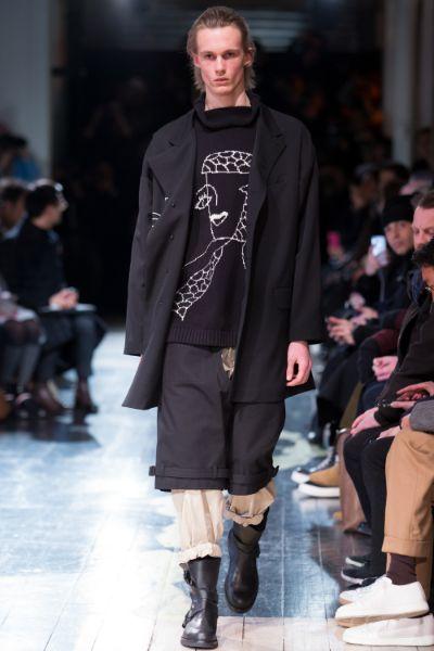 Yohji Yamamoto Menswear FW 2016 Paris (14)