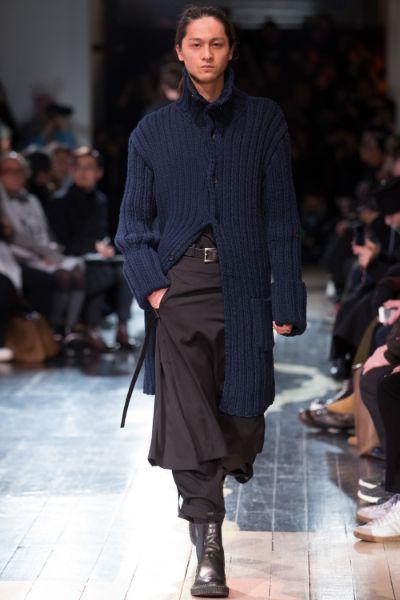 Yohji Yamamoto Menswear FW 2016 Paris (9)