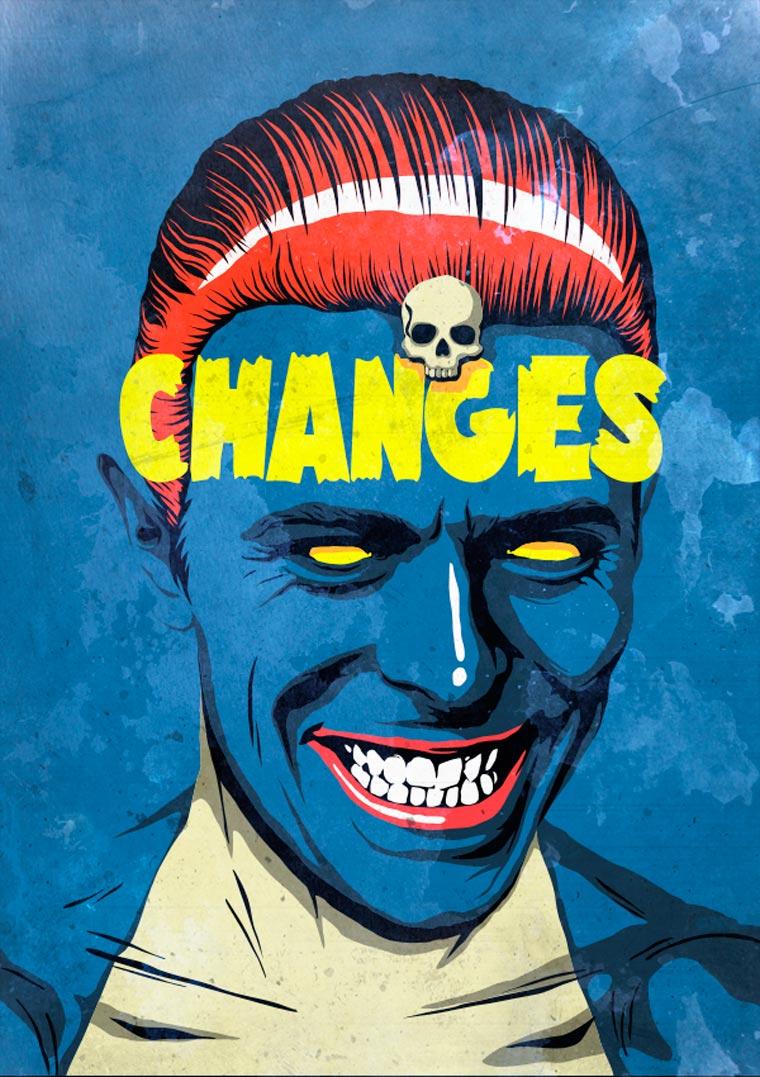 David Bowie VS. Pop Culture by Butcher Billy (25)