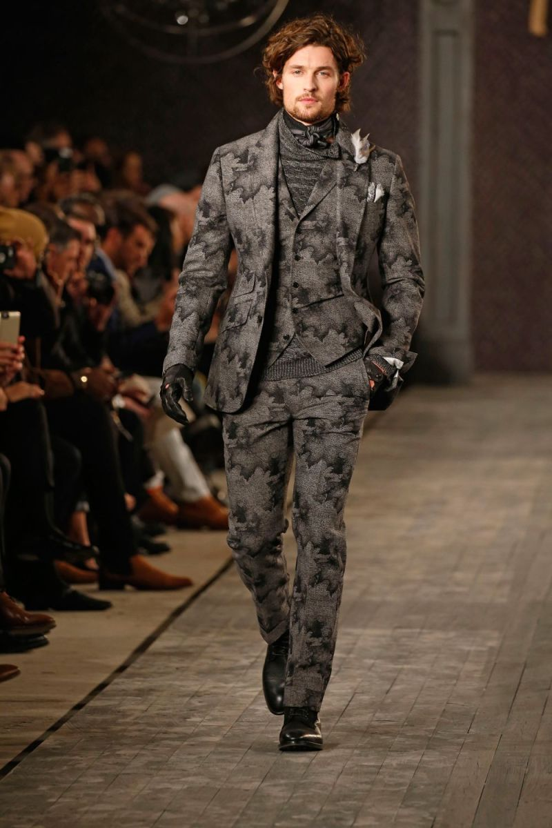 Joseph Abboud Menswear FW 2016 New York (12)