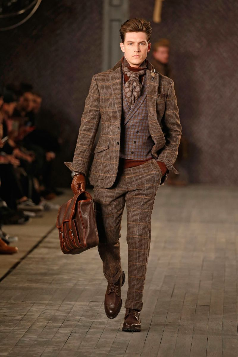 Joseph Abboud Menswear FW 2016 New York (25)