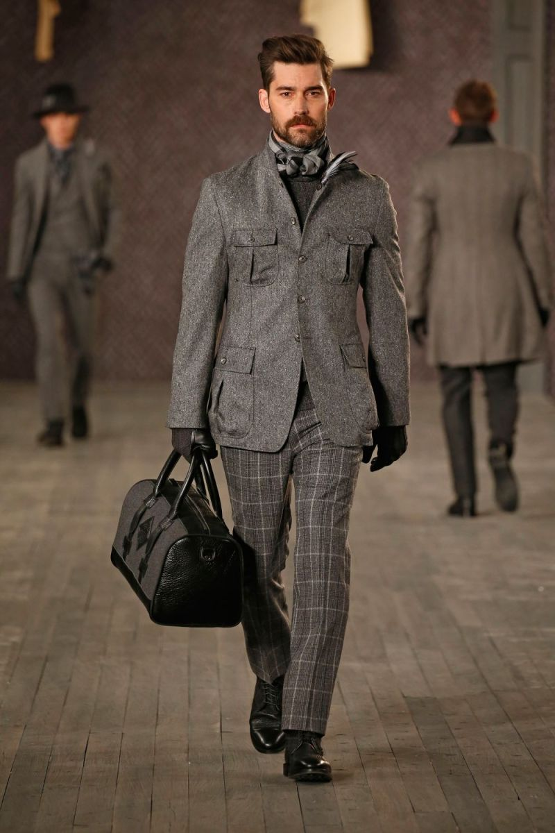 Joseph Abboud Menswear FW 2016 New York (3)