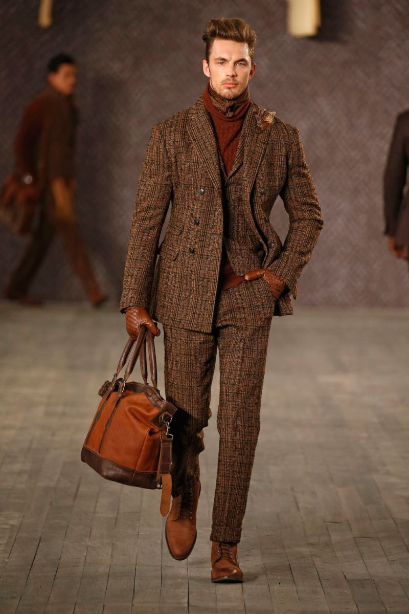 Joseph Abboud Menswear FW 2016 New York (31)