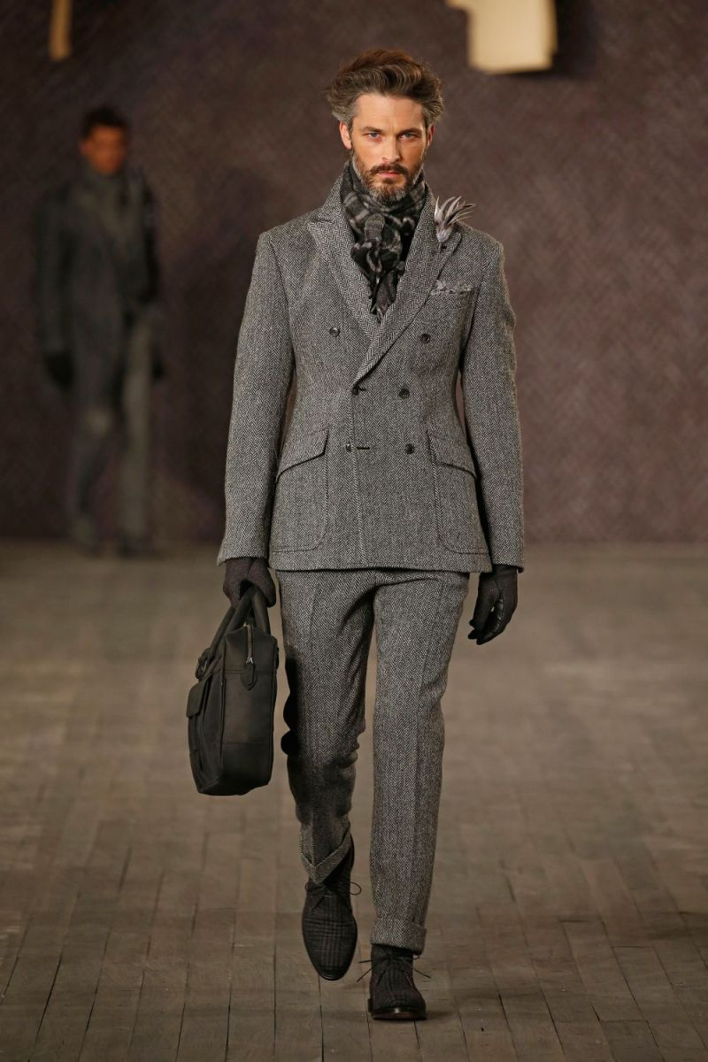 Joseph Abboud Menswear FW 2016 New York (5)